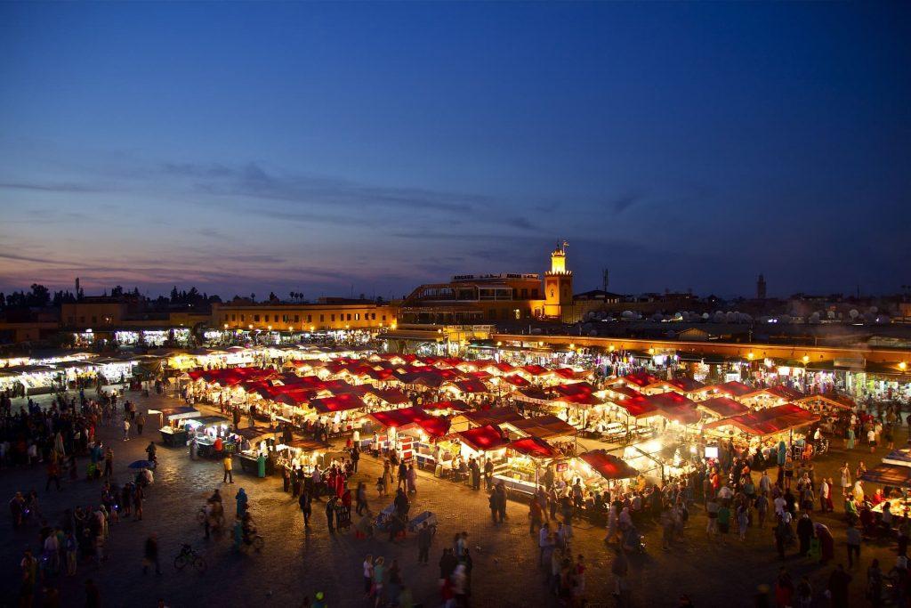 Marrakech, no Marrocos