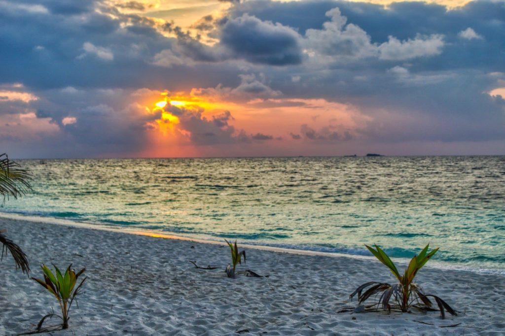 Pôr do Sol Ilhas Maldivas