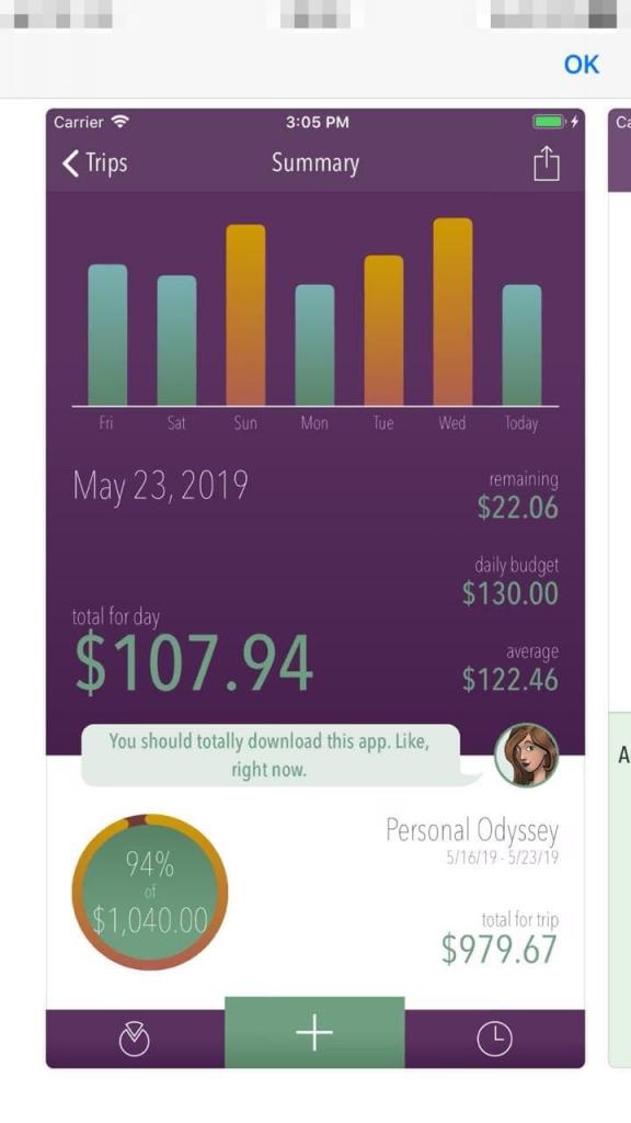 App Motorhome Trail Wallet