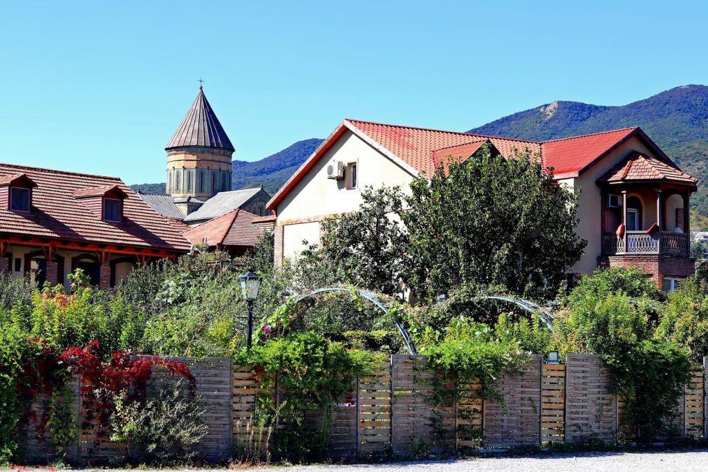 Cidade de Mtskheta, na Geórgia