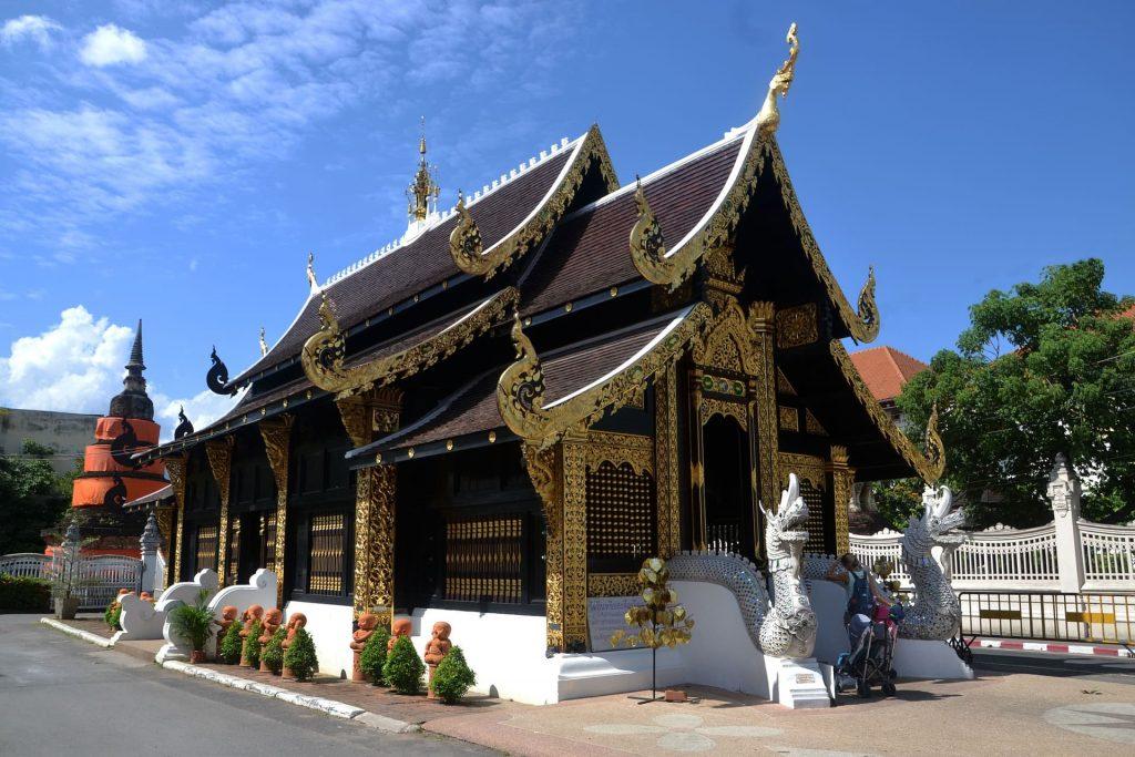 Templo em Chiang Mai Tailandia