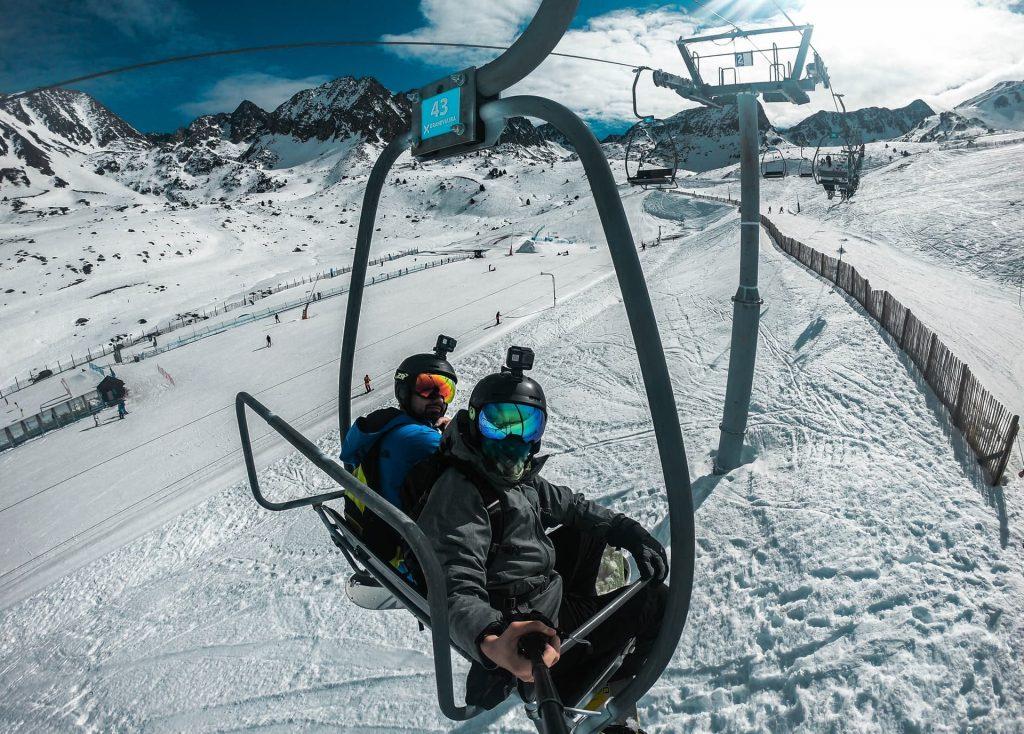 Estação de sky em Andorra