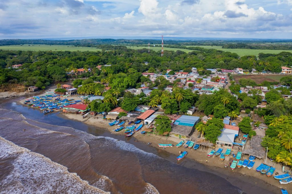 Costa de Masachapa na Nicaragua
