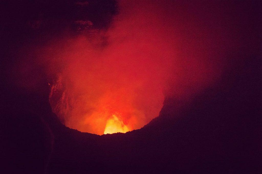Vulcão Masaya na Nicaragua