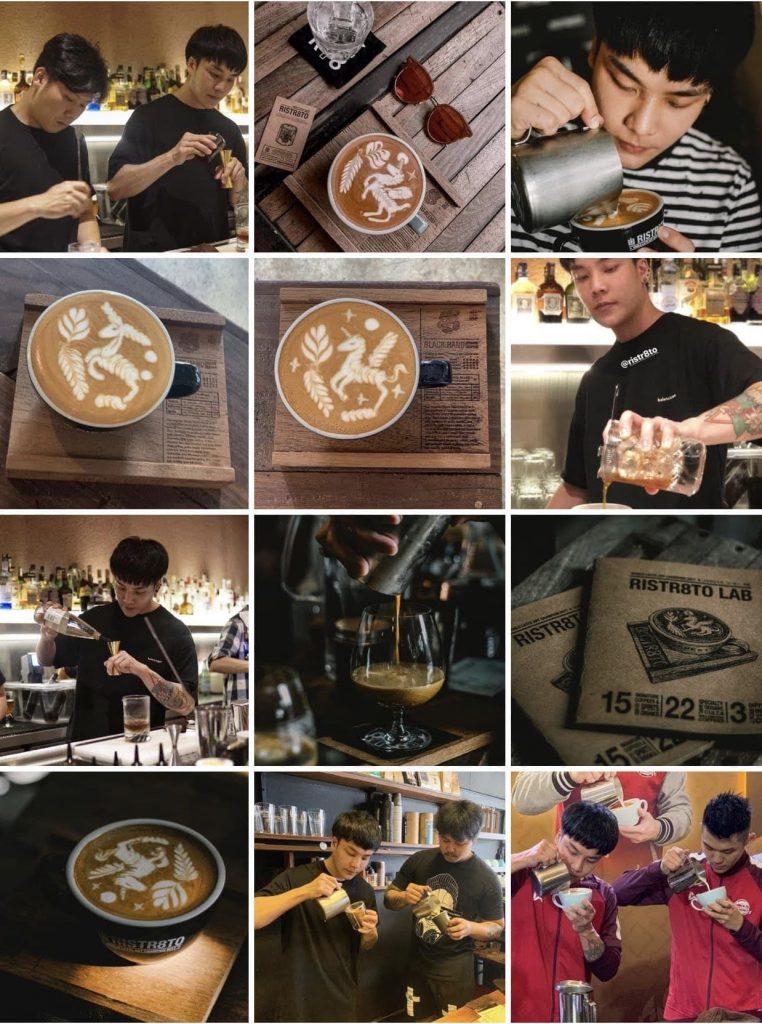 Café em Chiang Mai