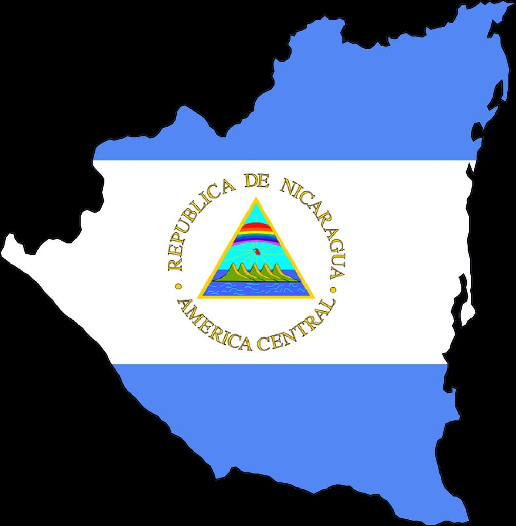 Mapa Nicarágua