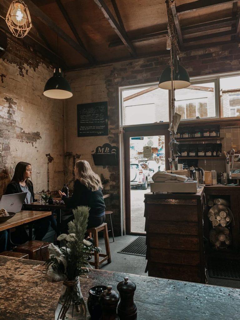 Monk Bodhi Dharma Cafe, em Melbourne, na Austrália