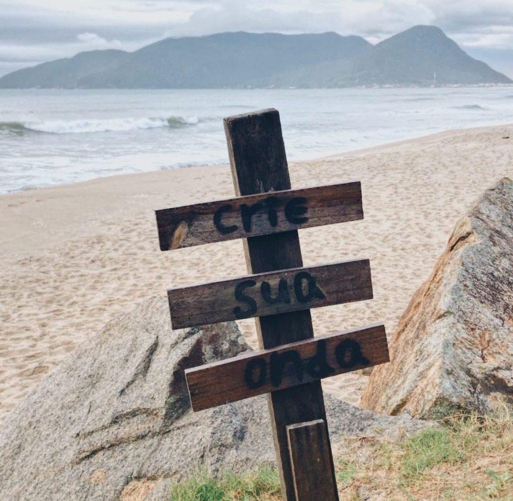 Caminho Morro das Pedras Floripa Florianópolis