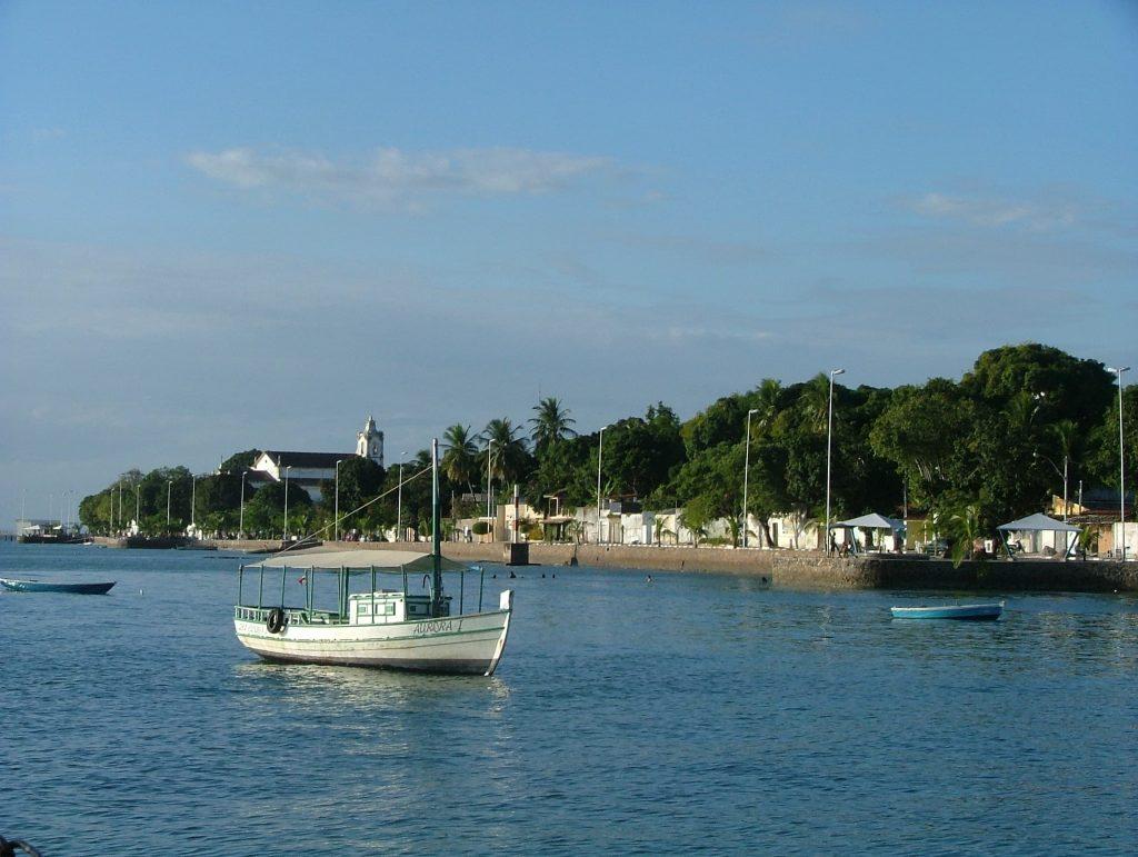Ilha de Itaparica na Bahia