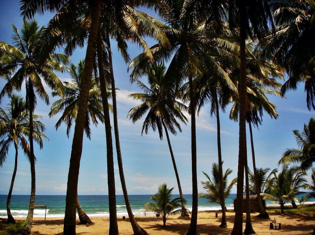 Península de Maraú na Bahia