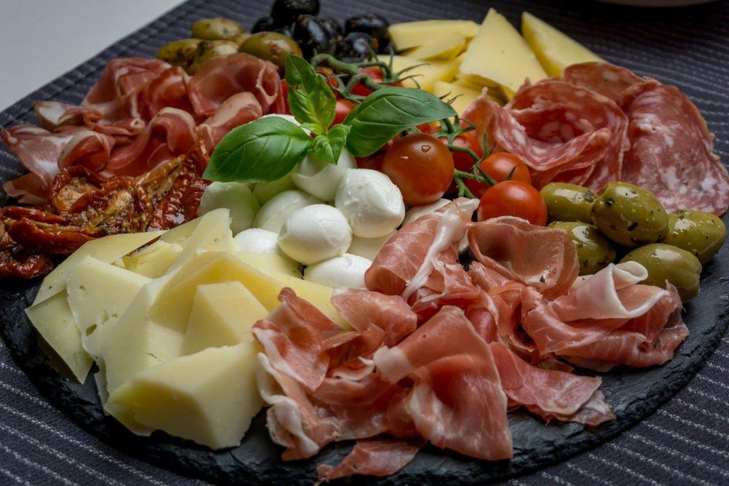 Antepastos e aperitivos Gastronomia Italiana