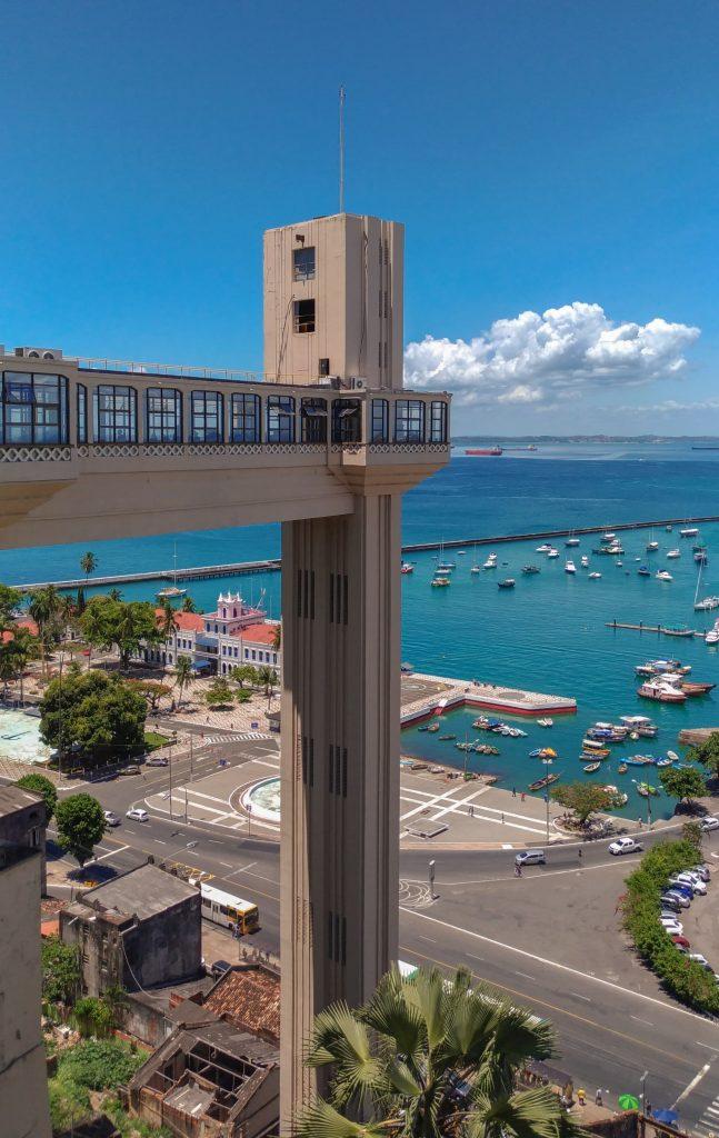 Elevador Lacerda em Salvador na Bahia