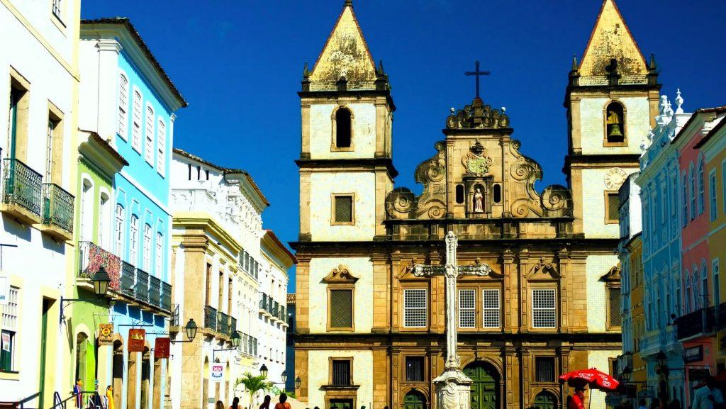 Igrejas católicas na Bahia em Salvador