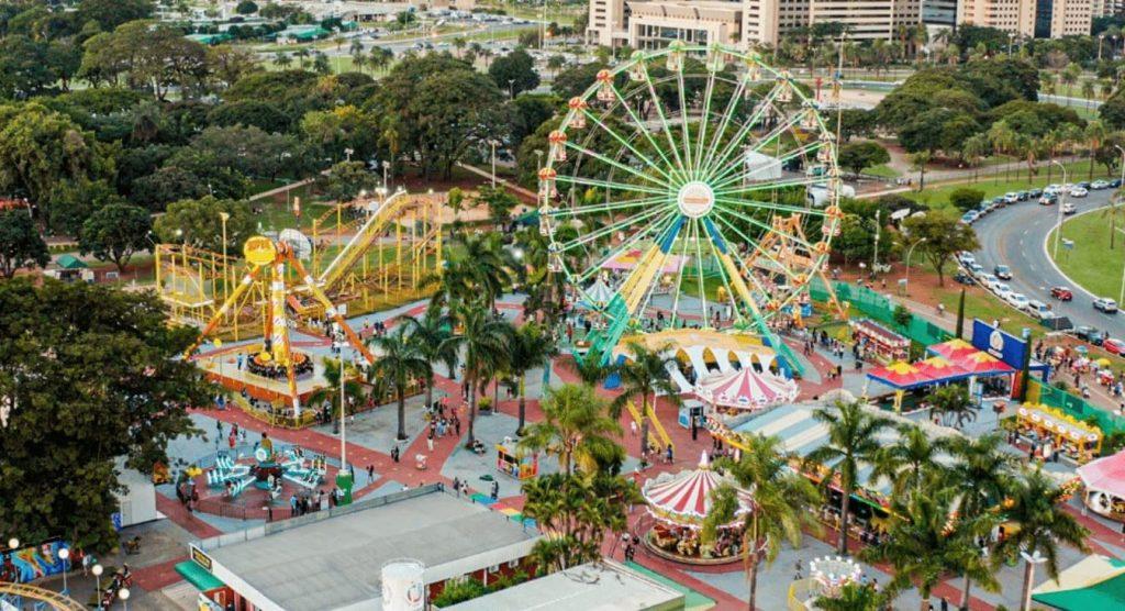 Parque de diversões em Brasília Nova Nicolândia