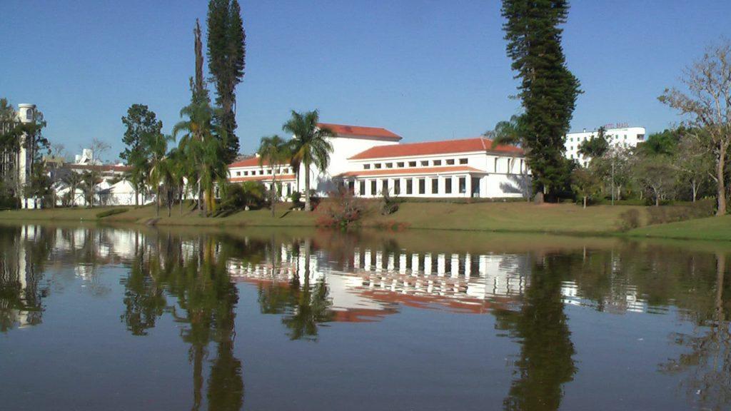 Parque das Aguas em São Lourenço