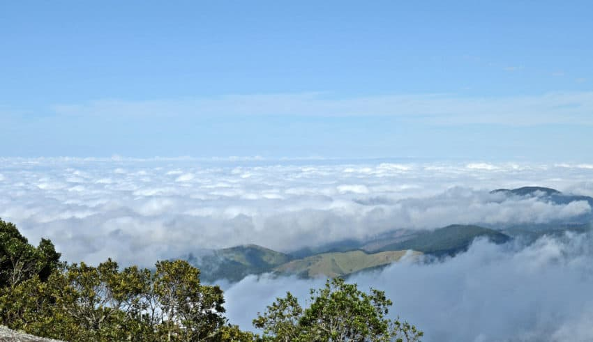 Monte Verde próximo de São Lourenço
