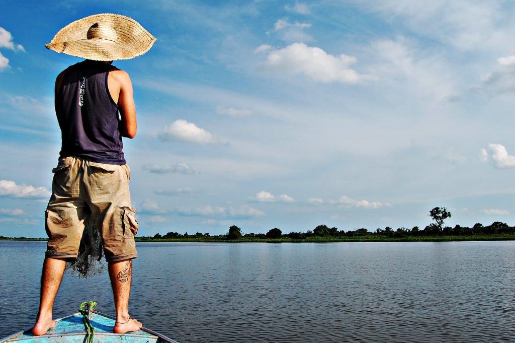 Pescaria no Pantanal