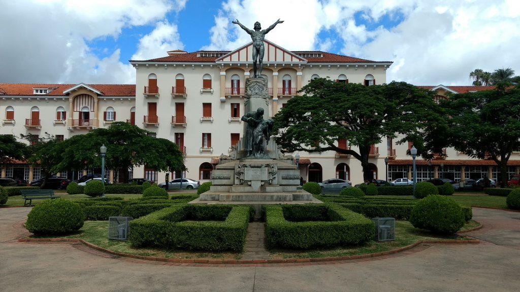 Poços de Caldas em Minas Gerais perto de São Lourenço