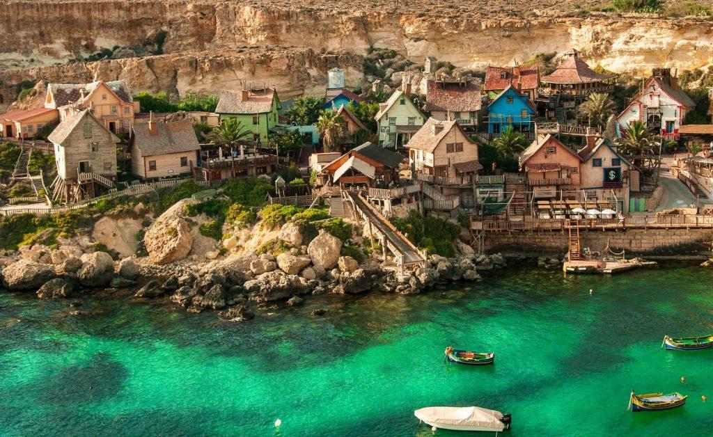 Vilarejo em Malta, Ilha do Popeye