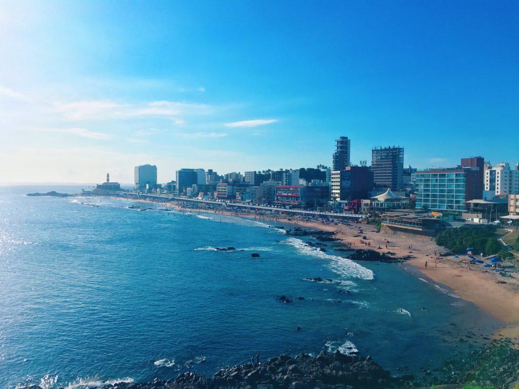 Salvador na Bahia no Nordeste