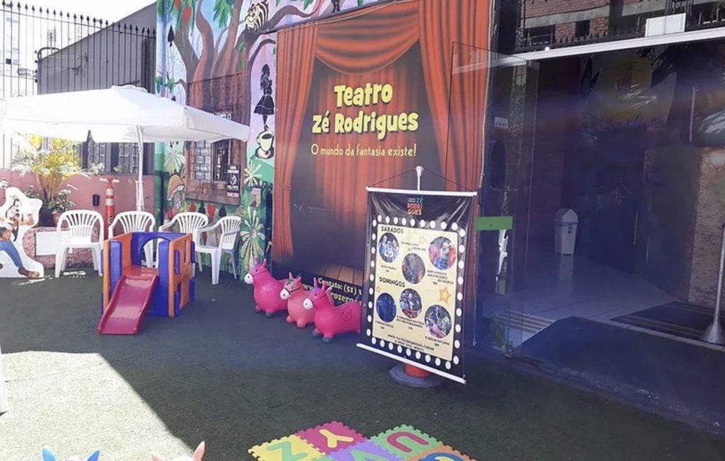 Teatro Zé Rodrigues em Porto Alegre
