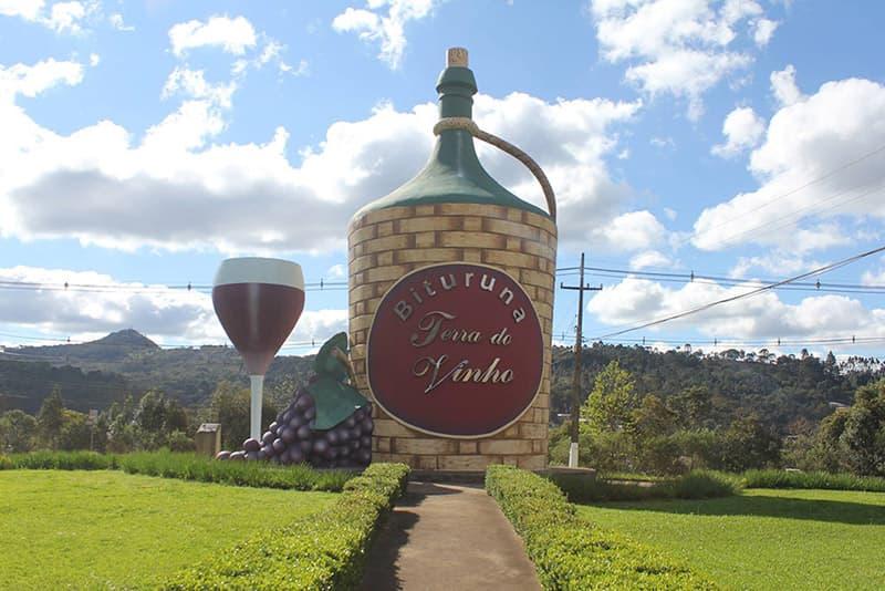 Rota do vinho em Bituruna no Paraná