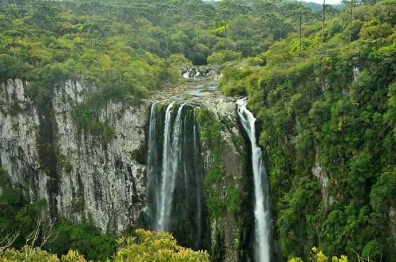 Canion em Cambará do Sul no Rio Grande do Sul