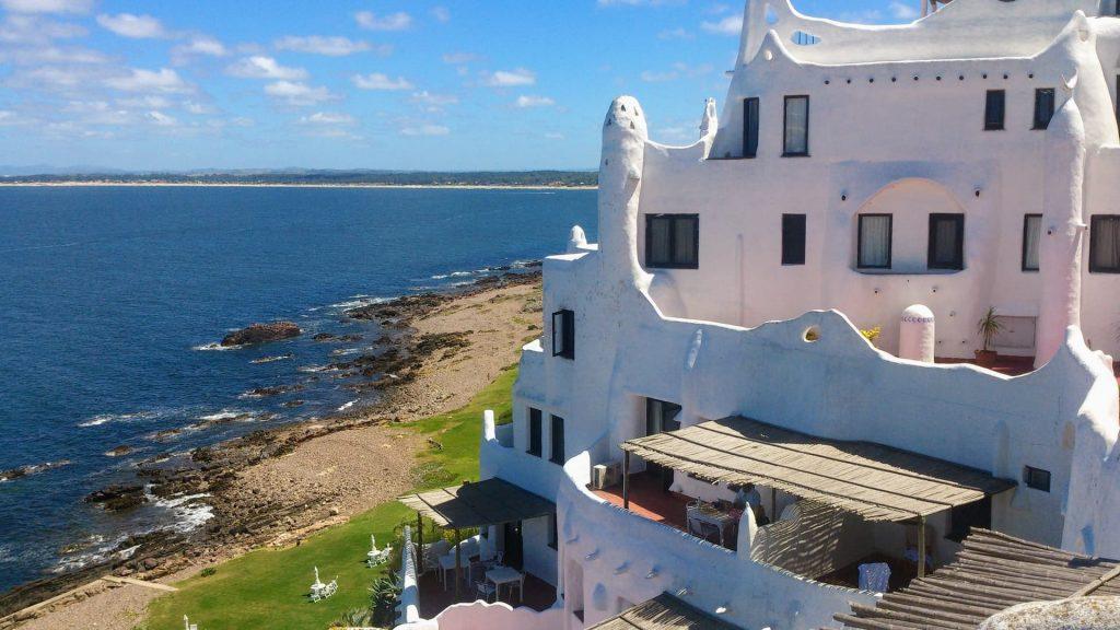 Casapueblo em Punta del este no Uruguay