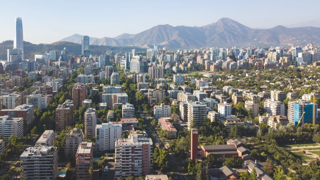 Santiago capital do Chile