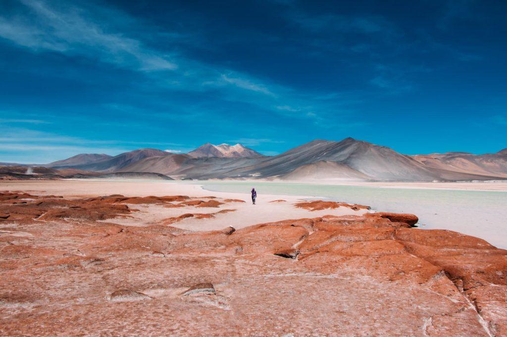 Deserto do Atacama no Chile na America do Sul