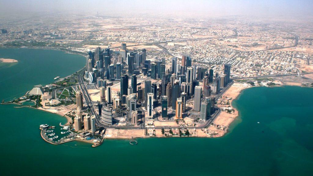 infraestrutura de Doha no Catar