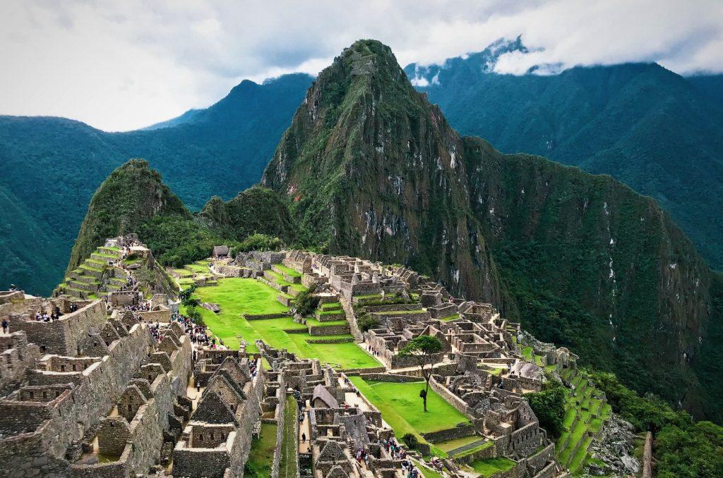 Machu Picchu na America do Sul