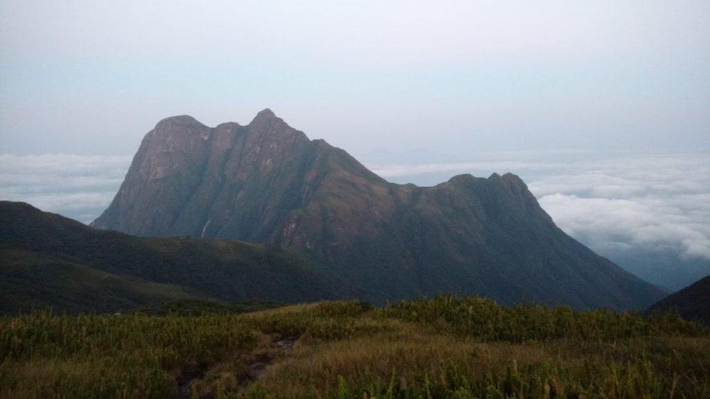 Pico Paraná no estado do Paraná nas serras paranaenses