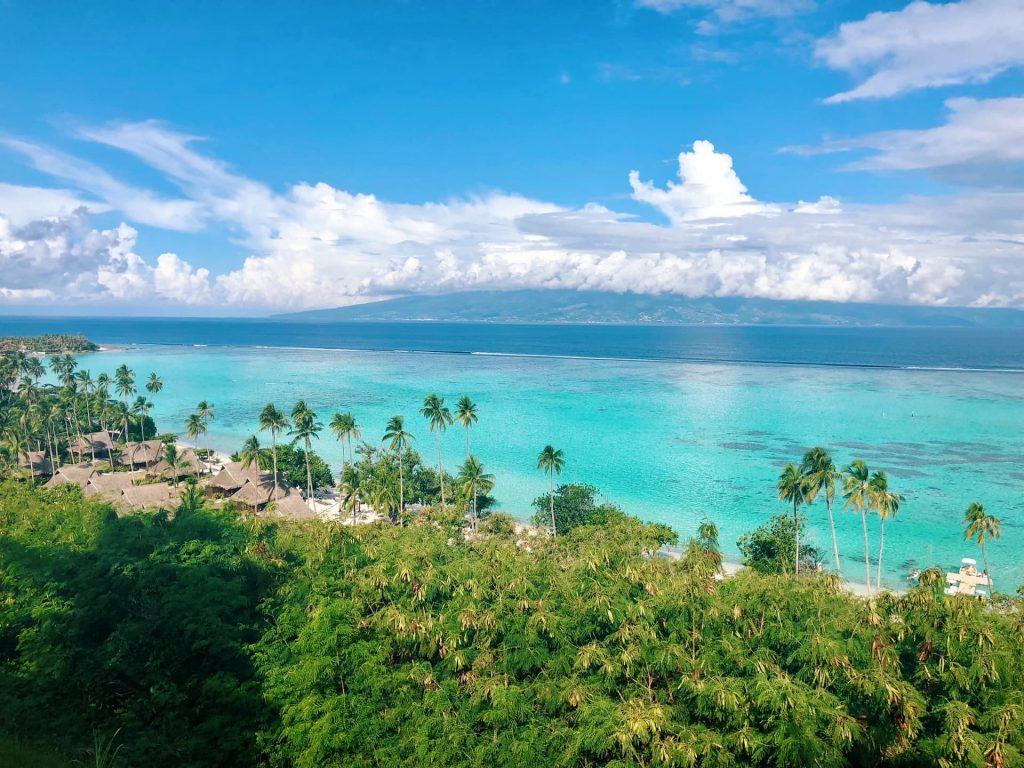 Polinésia Francesa um dos muitos Territórios Ultramarinos da França