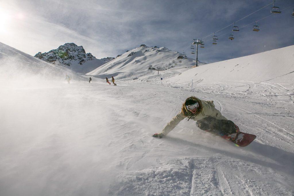 Snowboarding no Japão