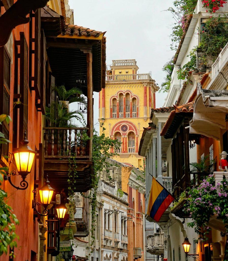 Cartagena na Colômbia