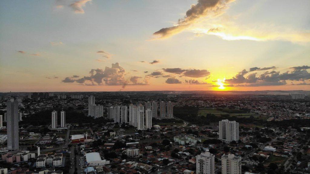 Vista panorâmica de Goiânia